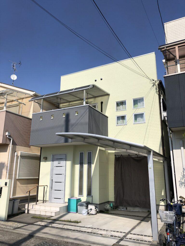 堺市N様邸塗装後